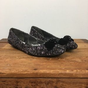 Eitenne Aigner E-Woodrow Purple Tweed Flat…